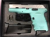 SCCY INDUSTRIES CPX-2 STAINLESS/TIFFANY BLUE
